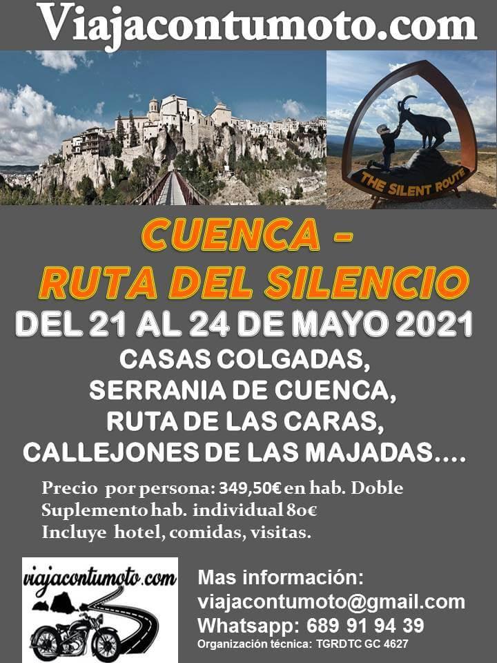 viaje motero por Cuenca Viajacontumoto