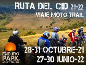 Viaje Moto Trail Ruta del Cid, por Enduro Park Adventours