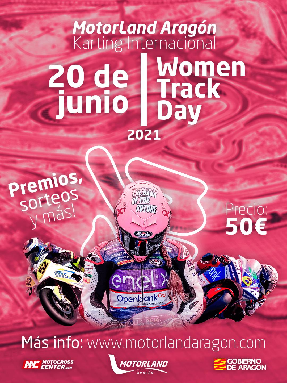 Concentración Motera Women Track Day en el Circuito Motorland Aragón