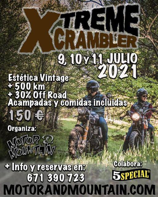 Ruta Motera Xtreme Scrambler por León, Castilla y León
