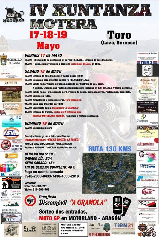 concentracion motera Ourense